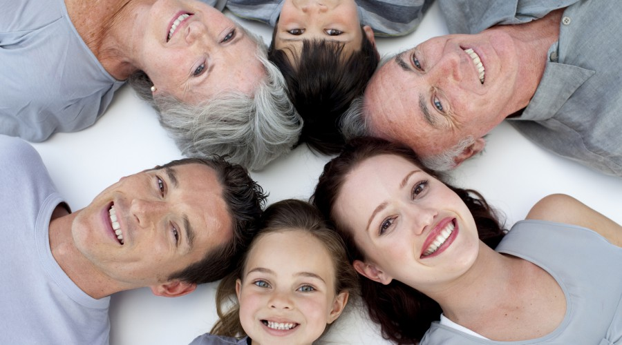 Correct oral hygiene for all age groups