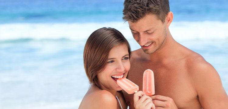 Zähne schmerzen beim Eis essen