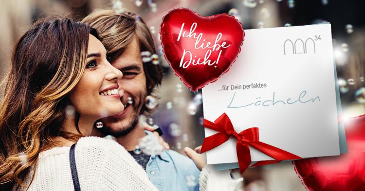 Exklusives Valentinstag Special: Zahnreinigung oder Bleaching zu Top Preisen