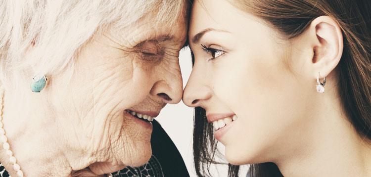 Zahnpflege im Alter gesunde Zähne