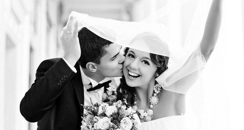 Schöne Zähne Hochzeit
