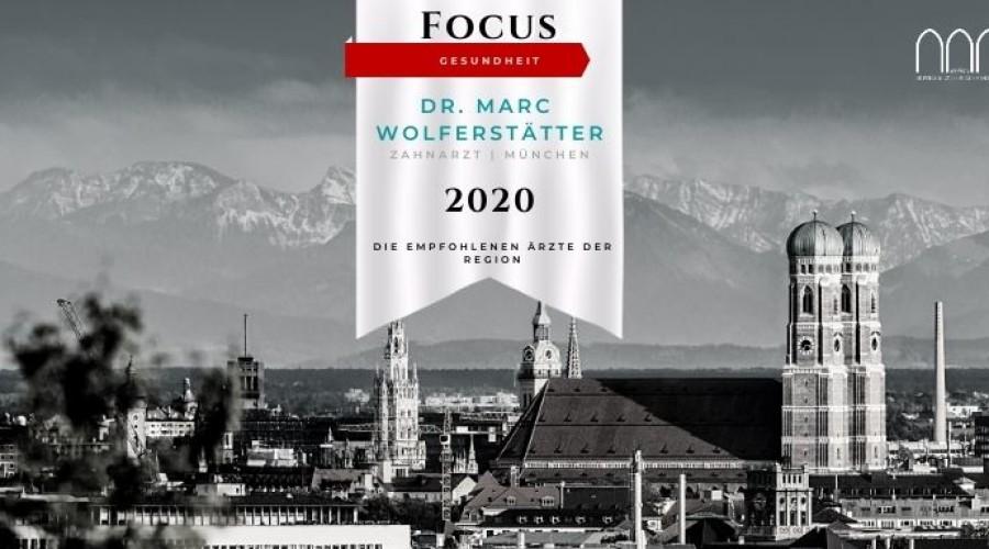 Dr. Marc Wolferstätter – TOP ZAHNARZT 2020
